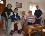 Me, Ray, Dad (w/ Toby), Mom & Carol - La Valley's all :)