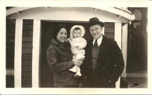 Alba, Betty, Ken Ross 1937