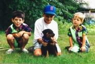 Michael, Christopher (w/ Dillion), Joseph 1991