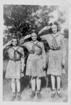 Pictured: Betty Ross, Mary Bergeron, Joan Landers
