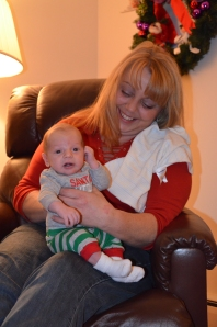 Christie with Jaxon
