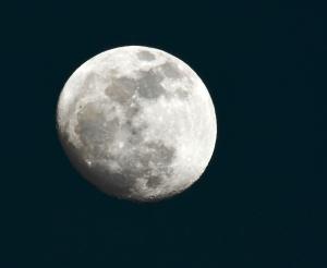 Waxing Gibbous Moon :)