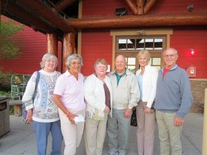 Sheila, Mary Jane, Betty, Tom, Shary, Bob Ross