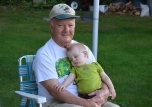 Great Grandpa & Jaxon