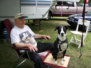 Dad & McKenzie