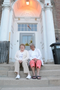 On the Steps of Old Penacook High School 6/6/15