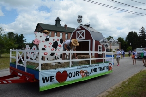 This year's theme:  We love our cows and that's no bull.